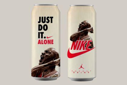 MICHAEL JORDAN x NIKE - COLLECTOR ENERGY DRINK