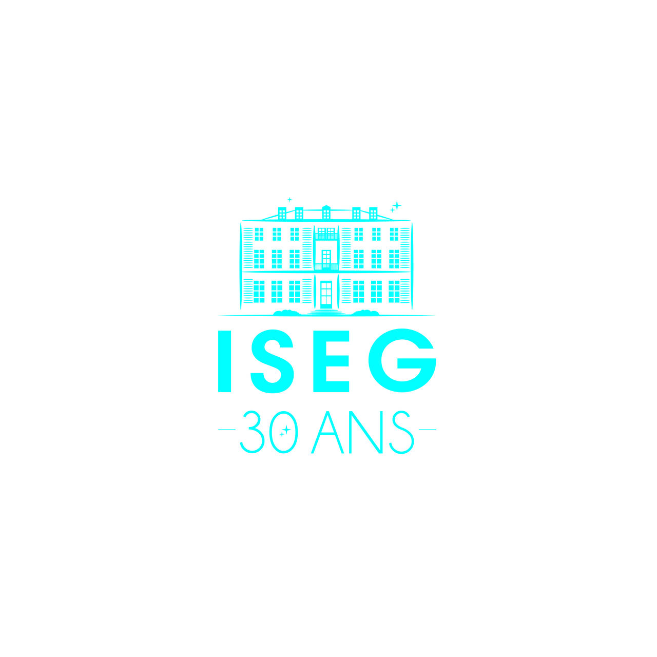 Logo ISEG 30 Ans