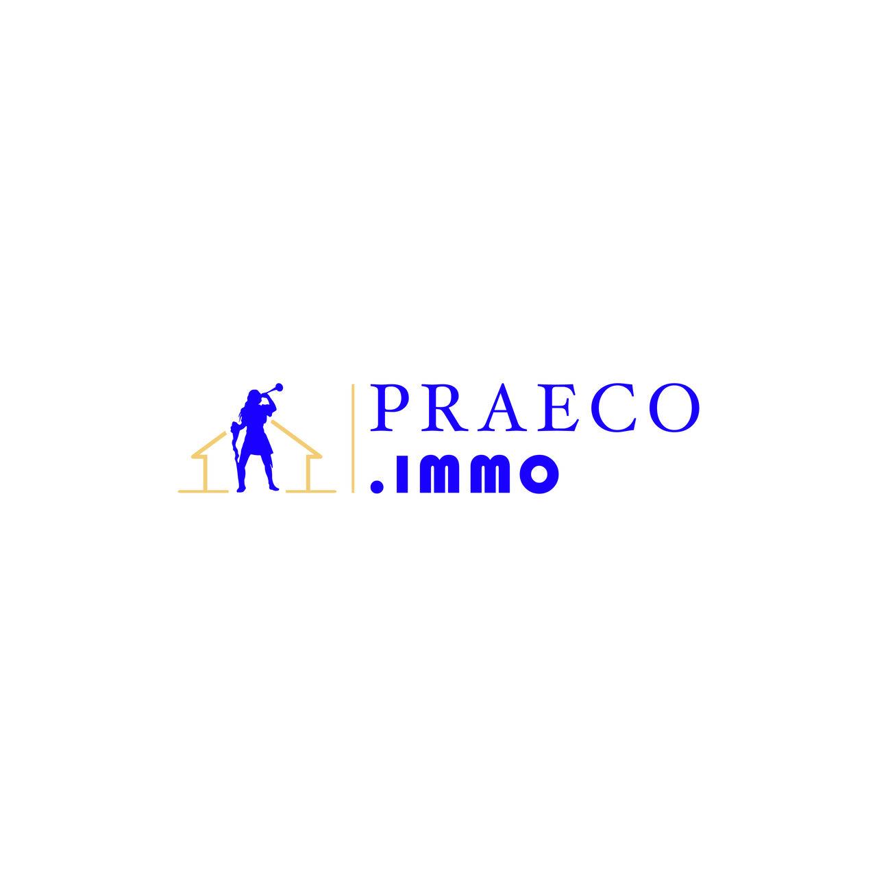 Logo PRAECO .Immo