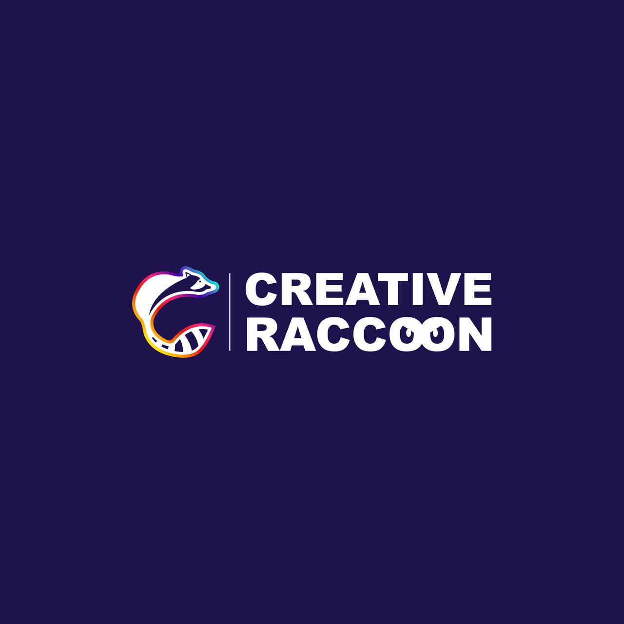 Logo Creative Raccoon