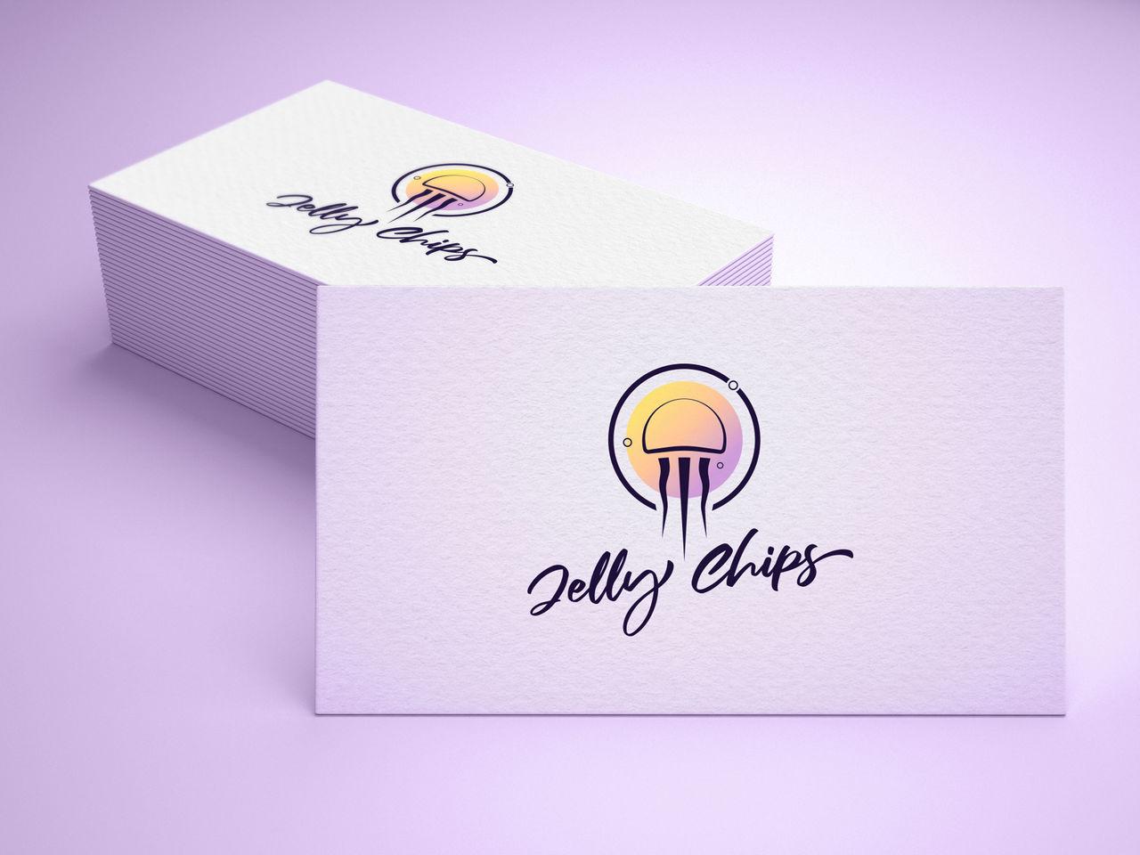 Carte de visite Jelly chips