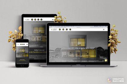 Site Web // Artip Concept
