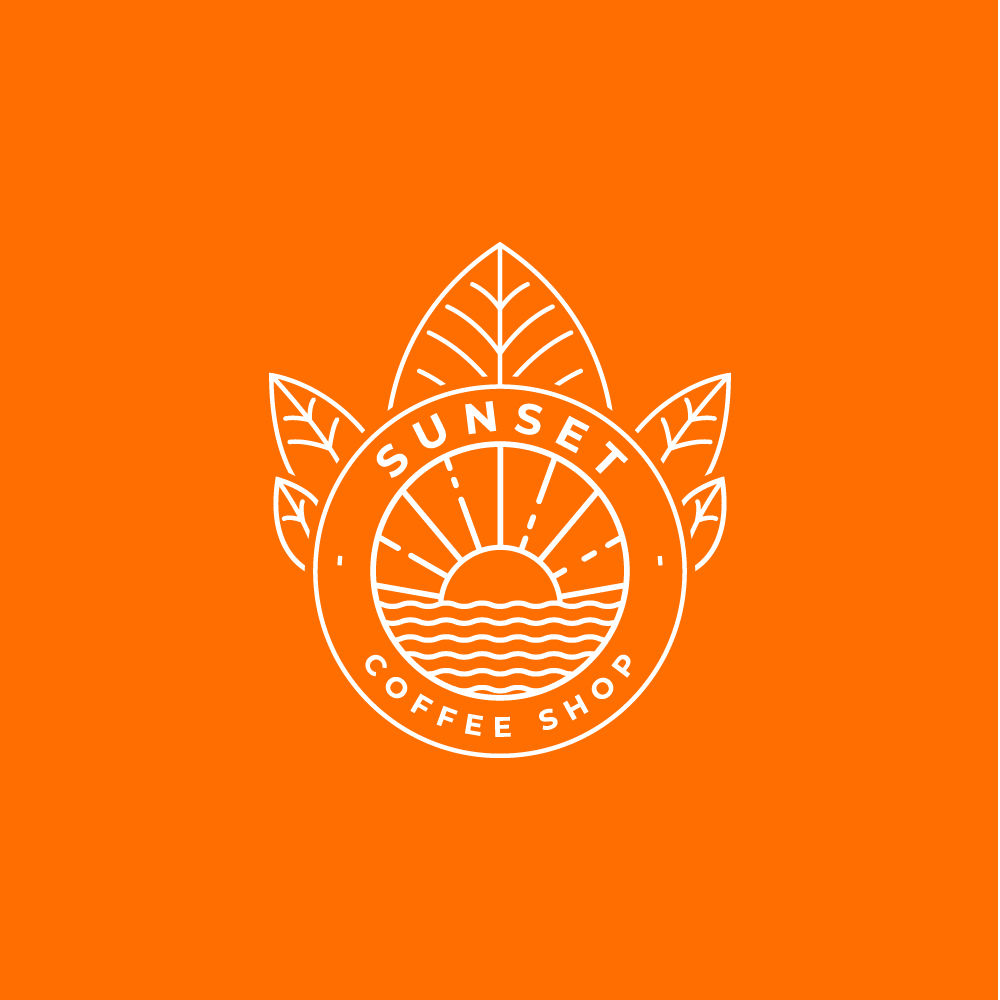 Logo Sunset Coffee shop