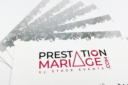 Cartes de visite - Prestations mariage