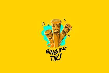 Logo Singin' Tiki