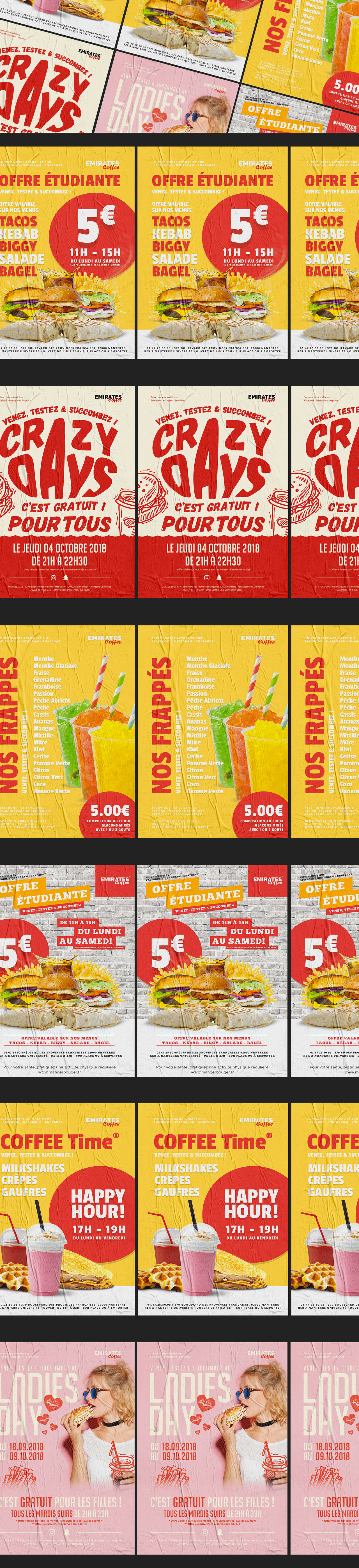 Emirates Coffee | Fast Food Flyers | 2018-2019