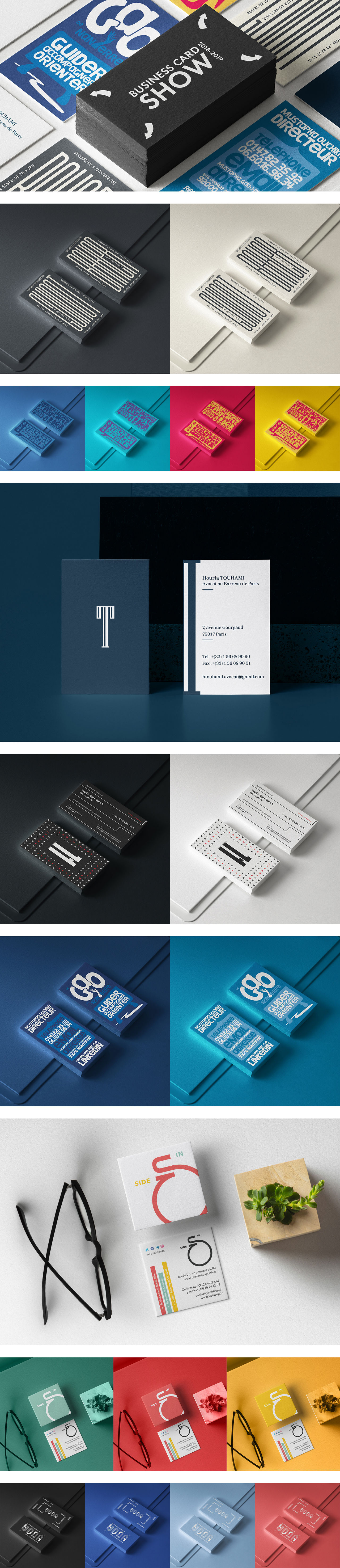 Business Card Show | 2018 - 2019