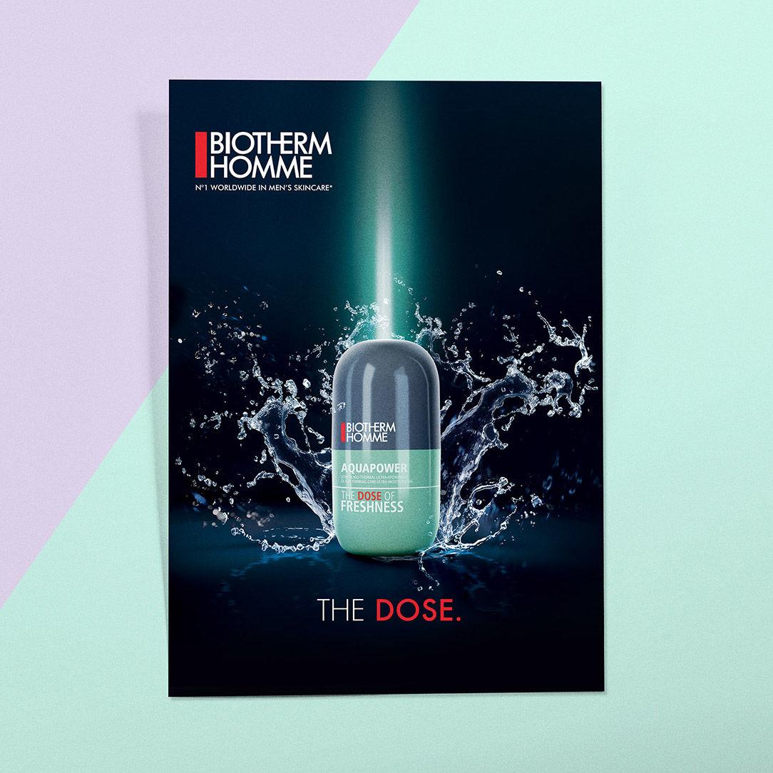 Biotherm homme, gamme de coffrets the Dose