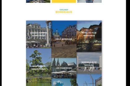 Redesign de l'office de tourisme de Bordeaux