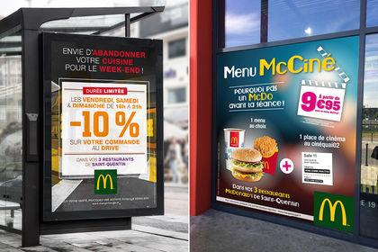 Campagne publicitaire McDonald's