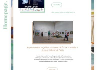Webdesign - homepage