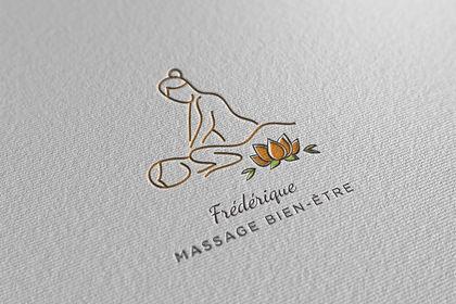 Réalisation logo massage
