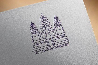 Réalisation logo blog de voyage