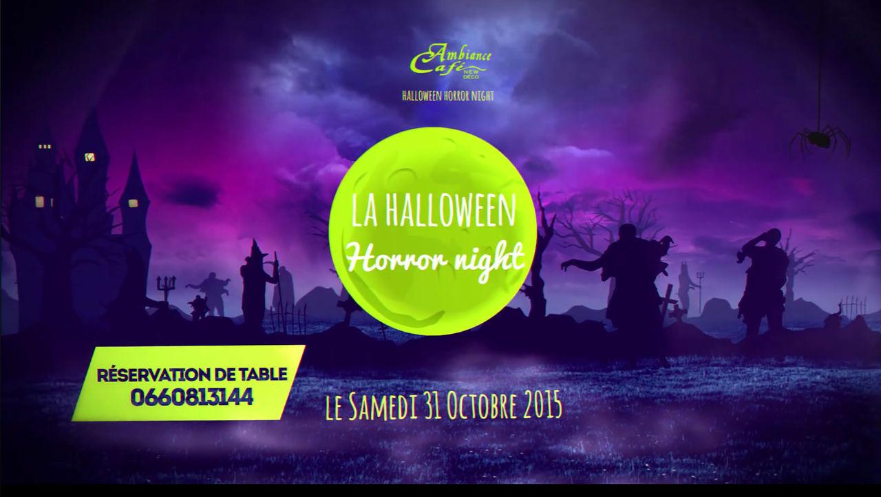 Teaser pour événementiel Halloween