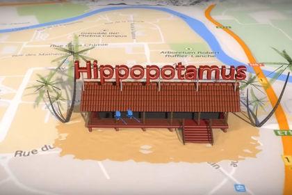 Animation 3D pour restaurant Hippopotamus