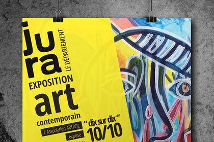 Affiche Exposition Artpol