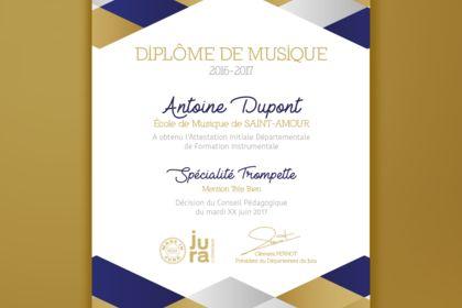 Diplomes de musique