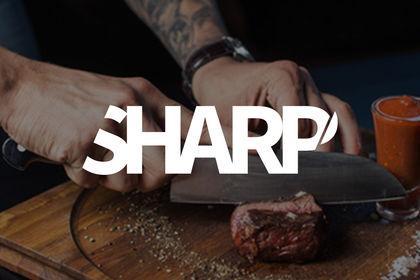 Logo marque de couteaux de cuisine