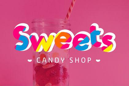 Logo magasin de bonbons