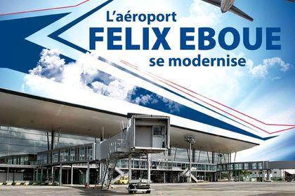 Affiche aeroport Guyane