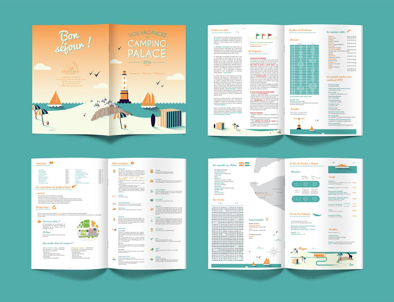 Brochure Camping Le Palace