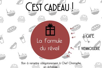 Création d'un flyer - La Cantine