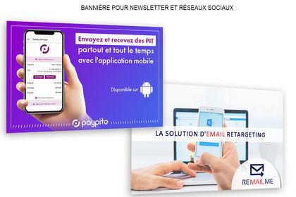 Bannières et bandeaux WEB