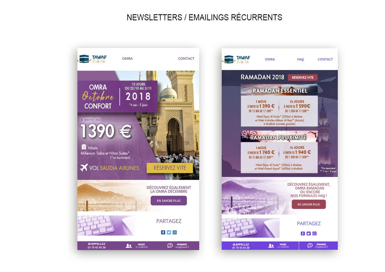 Newsletter / Emailing