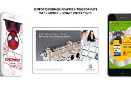 Supports digitaux