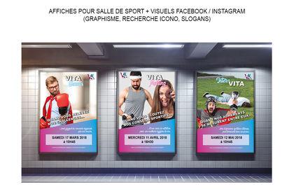 Affiches et visuels réseaux sociaux