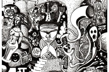 Pochette de l'EP 1st floor de Munch
