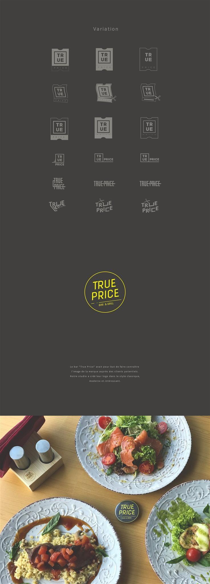 Charte Graphique pour True Price