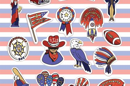 Stickers Nationaux US