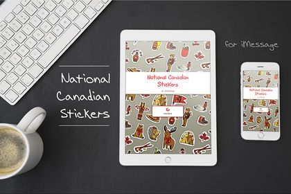 Stickers Nationaux Canadien