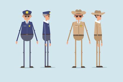 Personnage policière