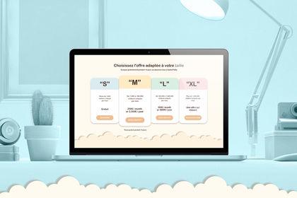 Le concept du site pour Cookie to go