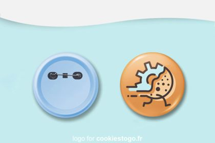 Animation de CookieToGo logo