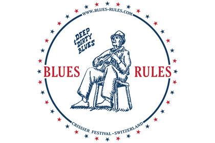 Logo - BLUES RULES