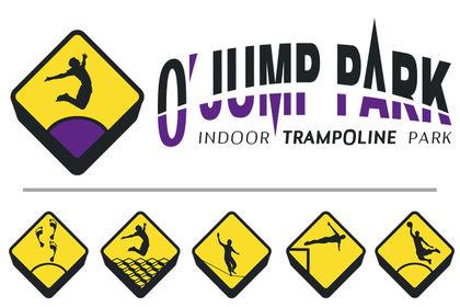 Logo & pictos - O' JUMP PARK