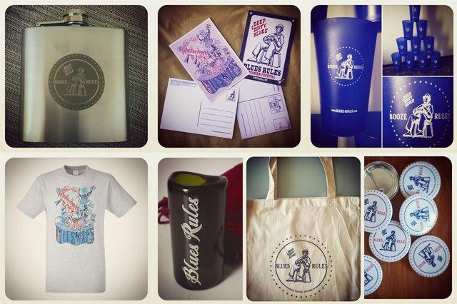 Merchandise - BLUES RULES