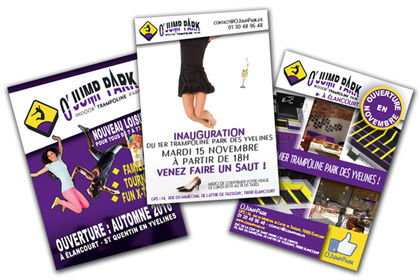 Flyers & affiches - O' JUMP PARK