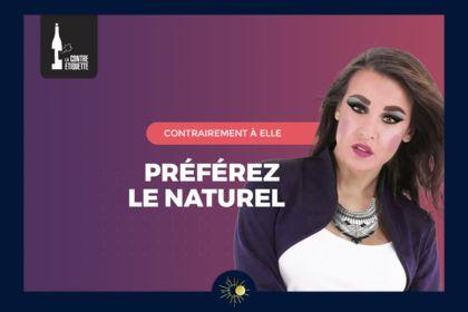 Vin Naturel - Bannière (Vers. Femme)