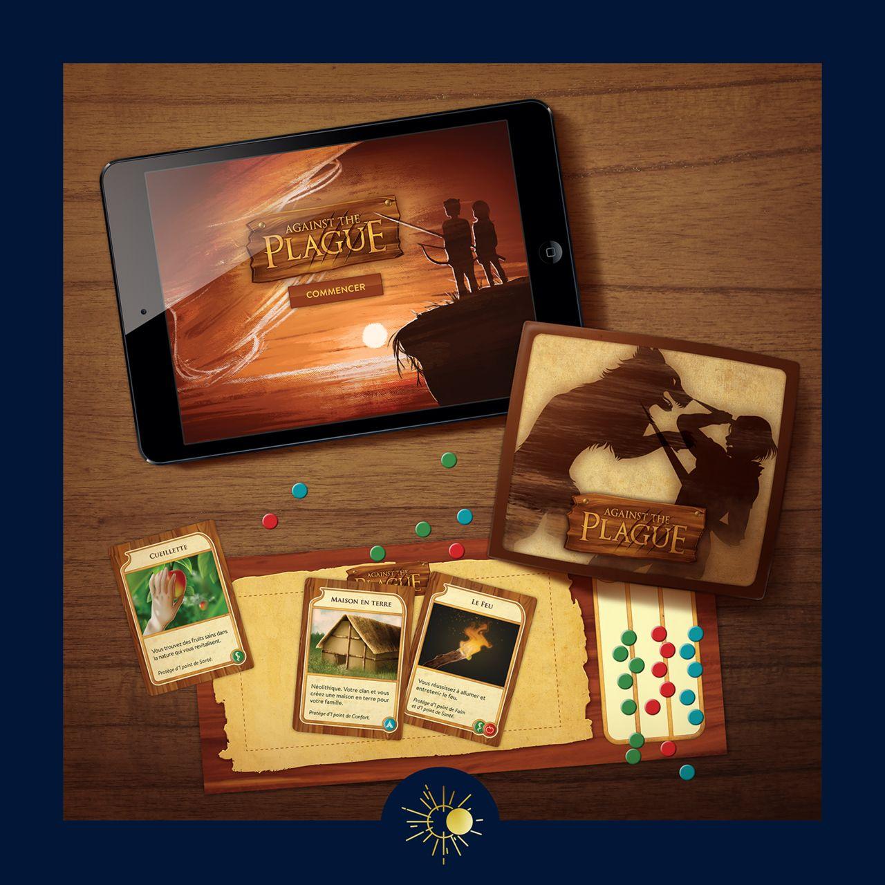 Against the Plague - Design app et jeu de société