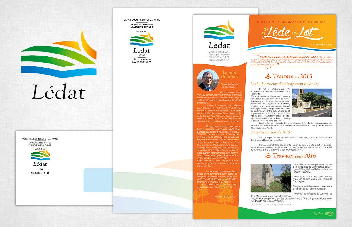 Logo & Charte graphique pour un village