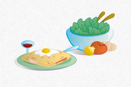 Illustrations pour un restaurant