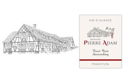 Illustration pour l'identité d'un viticulteur