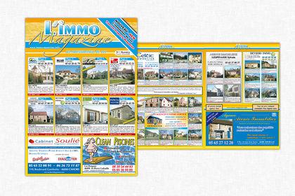 Création d'un Magazine Immobilier