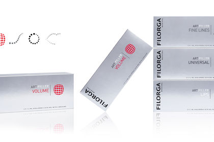 Packaging filorga gamme medicale