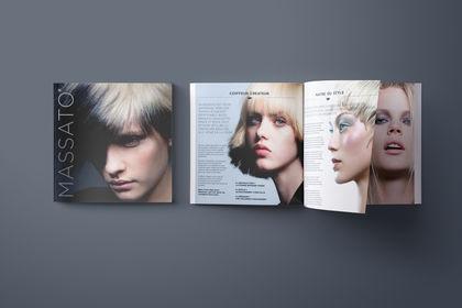 Livre de marque pour MASSATO coiffeur