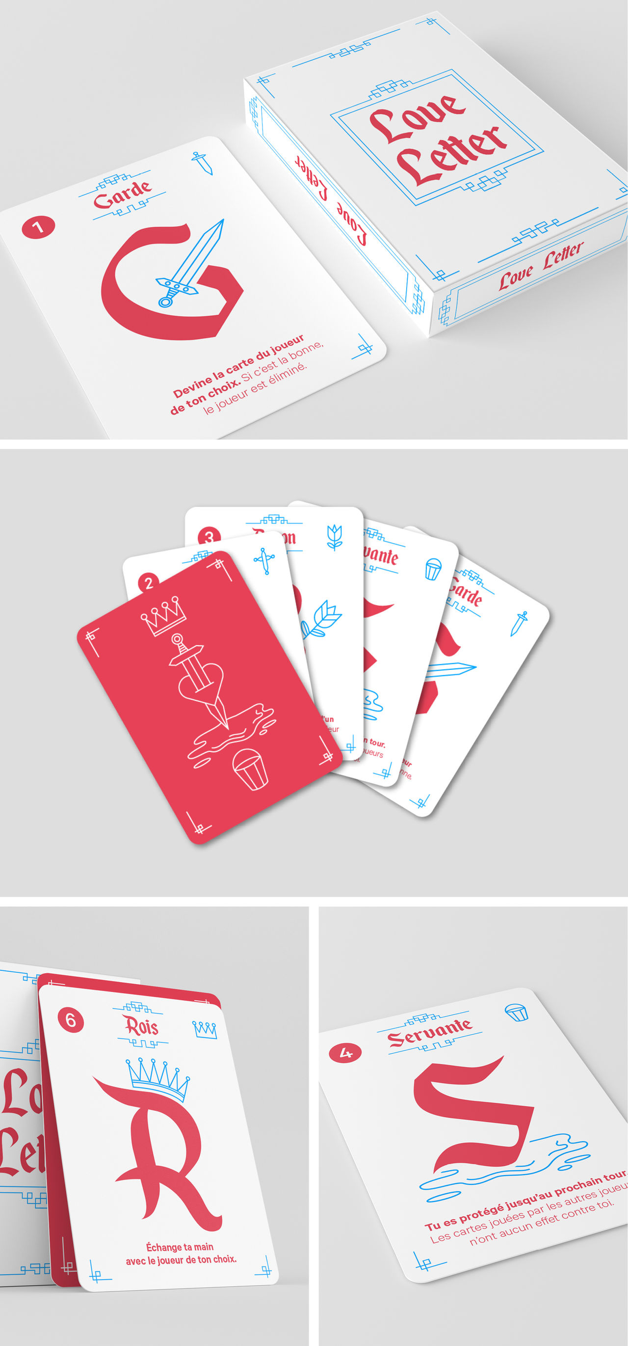 Jeu de cartes : Love Letter